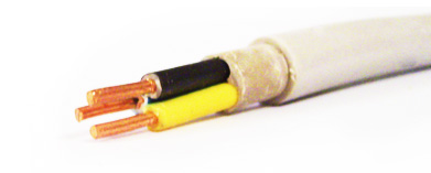 PVC insulated and sheathed cable (PP)