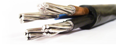 PVC insulated power cables (aluminium)